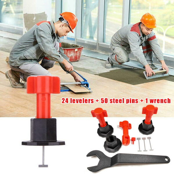 ⚡Clearance sale⚡ 75 Pcs Reusable Anti-Lippage Tile Leveling System Locator Tool Ceramic Floor Wall