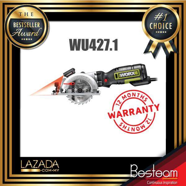 WORX® Professional Series WU427.1 710W 120mm Compact Circular Saw