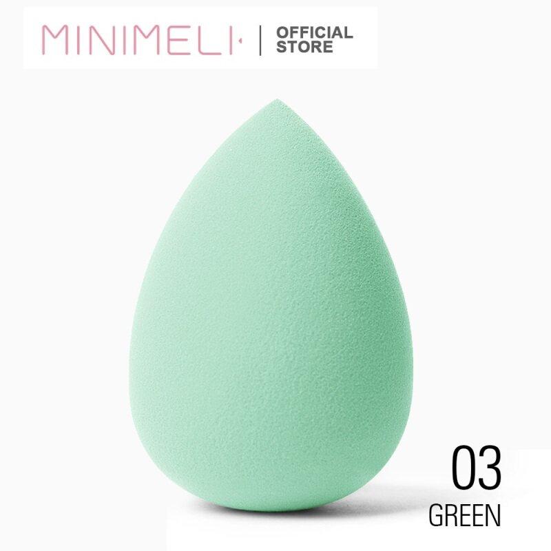MINIMELI 01 Mút trang điểm tán kem nền, hình giọt nước, bông mềm mịn, giá siêu tốt cao cấp