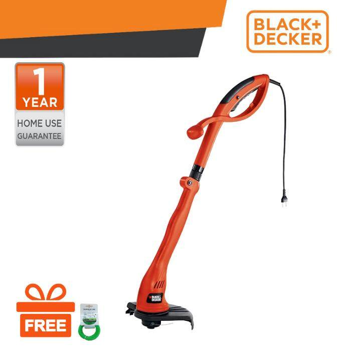 BLACK & DECKER GL5530 Grass String Trimmer 550W 30cm c/w CM100 City Mower | Lazada