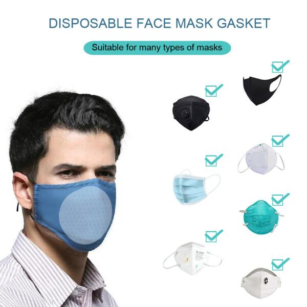 [Homesty]2020 Skin Friendly Gasket, 3 layer composite, Respirator Cartridge 10Pcs