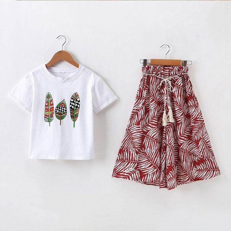 9d6eb1d7fc3af Latest QIBUSHI Girls Clothing Sets Products | Enjoy Huge Discounts ...
