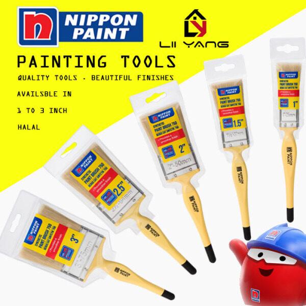 HALAL BERUS PAINT BRUSH Nippon Paint Nylon Synthetic Filament Paint Brush
