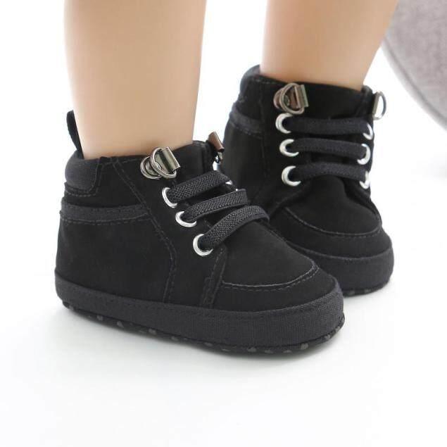 Đôi giày thể thao cho trẻ sơ sinh từ 0-18 tháng chất liệu Cotton mềm dễ chịu với thiết kế chống trượt an toàn cho bé - INTL giá rẻ