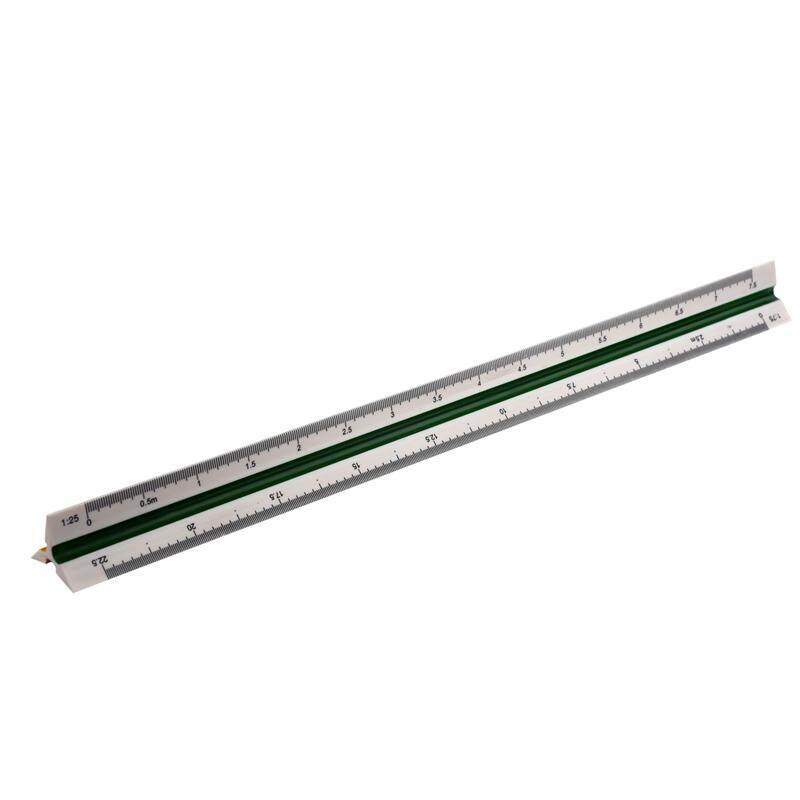 Mua 1:20 1:25 1:50 1:75 1:100 1:125 Plastic Triangular Scale Ruler