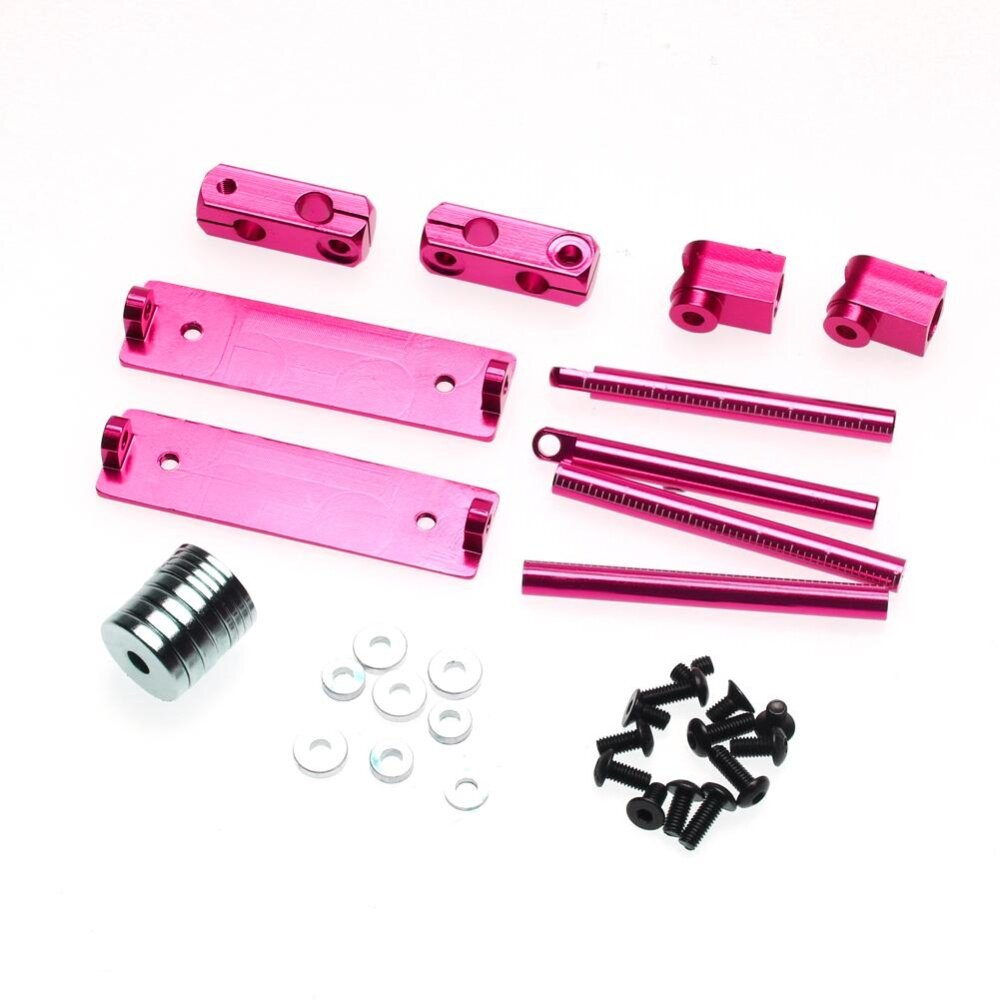 Aluminum Magnetic Invisible Body Post Mount Kit For 1/10 Rc Car By Sunyueydeng.