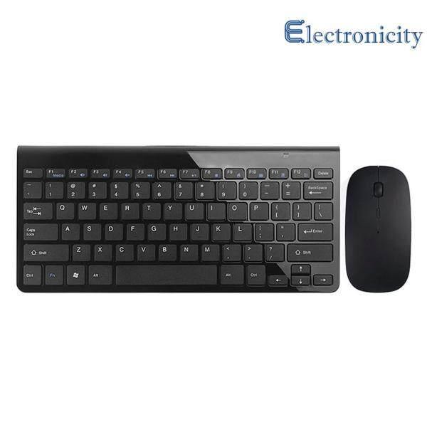 Ultra Thin Mini USB Wireless Keyboard Optical Mouse Kit Set For PC Desktop Singapore