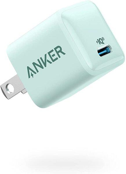 Anker Nano Charger 20W PIQ 3.0 Durable Compact Fast Charger, PowerPort III Charger for iPhone 12/12 Mini/12 Pro/Max/11,Galaxy, iPad Pro
