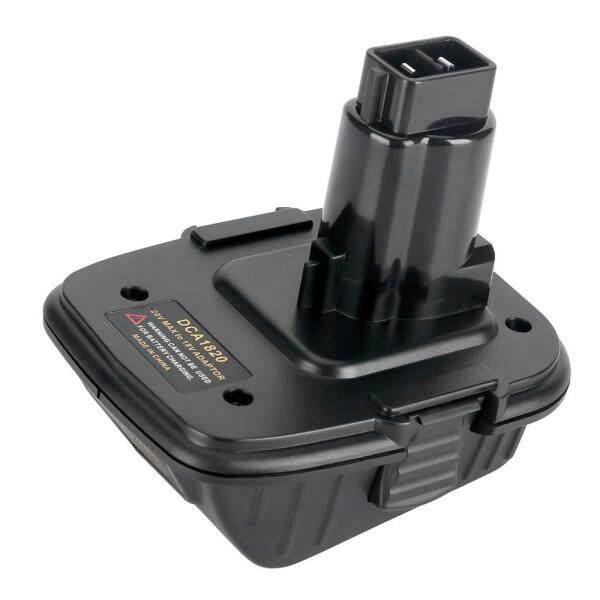 20V Battery Adapter DCA1820 for Dewalt 18V Tools Convert Dewalt 20V Lithium Battery for Dewalt 18V Battery DC9096 DC9098 DE9096