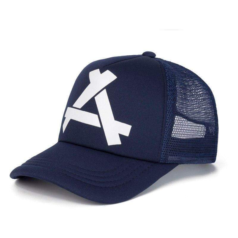 2b02a8f638ab49 New Summer Baseball Mesh Cap Snapback Hat Fashion Baseball Hats Trucker  Adjustable Fitted Cap Hat Hip