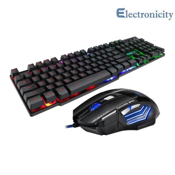 iMICE AN-300 USB Wired Gaming 104-Key Mechanical Keyboard 7-Key Mouse Kit Singapore