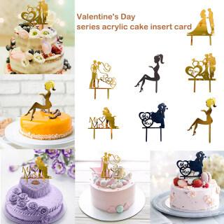 Đầu Trang Trí Bánh Cupcake Topper, Món Tráng Miệng Cake Topper, Đồ Trang Trí Tiệc Bánh thumbnail