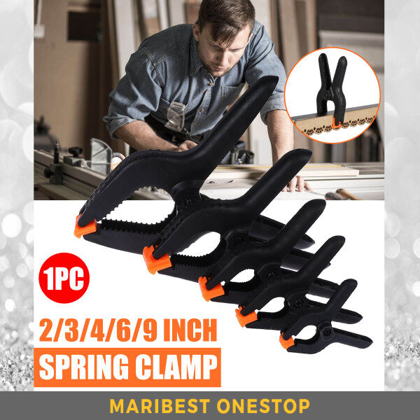 1PCS 2 3 4 6 9 Inch A Type Spring Clip Plastic PVC Nylon Modelling DIY Tool Wood Clamp Fixed Clip Backdrop Clamp