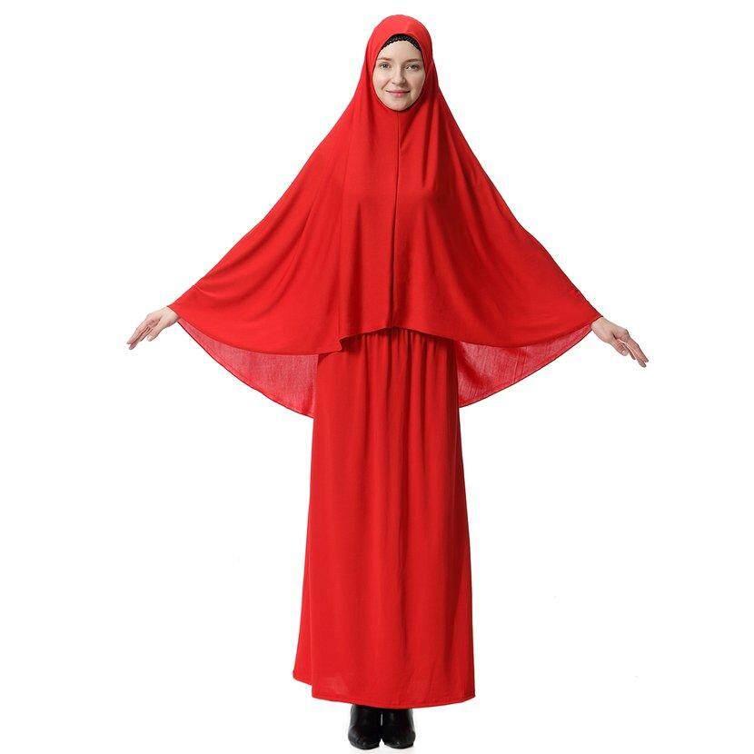 db5c5e4caf Hot Sellers Women Islamic Clothing Set Hijab Tube Skirt Muslim Dress Full  Head Cover Scarf Long