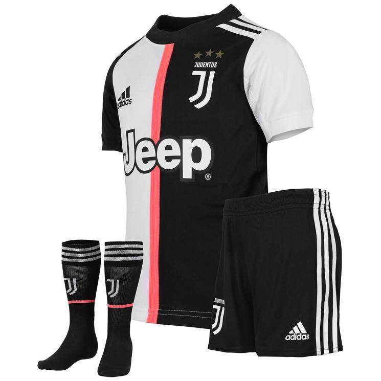 half off 423fa d575f Top Quality 2019/20 Younger Kid's Home Football Soccer Kit Jersey RONALDO  NO.7 DYBALA NO.10 Children Soccer Jersey