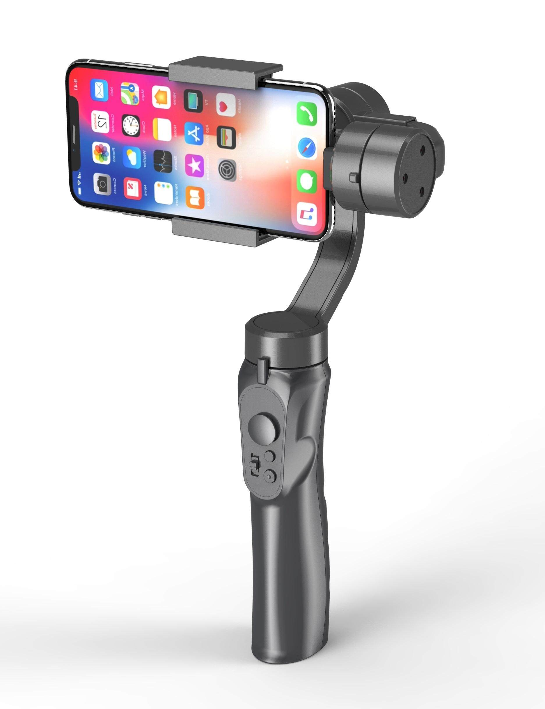 3-Axis Handheld Smartphone Gimbal Stabilizer for iPhone X 8Plus 8 7 Android  Sports Cameras