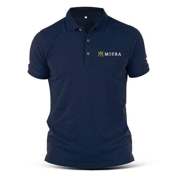 Miura Golf Sports Tee Golf Eagle Putter Swing Driver Bunker Wood Iron Men'S Polo T-Shirt 100% Cotton For Christmas Gift