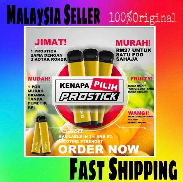 [Ready Stock] Aladdin Pro Stick Disposable Kit 1300 PUFF 1100mah 5.5ML (Pakai Buang) Malaysia