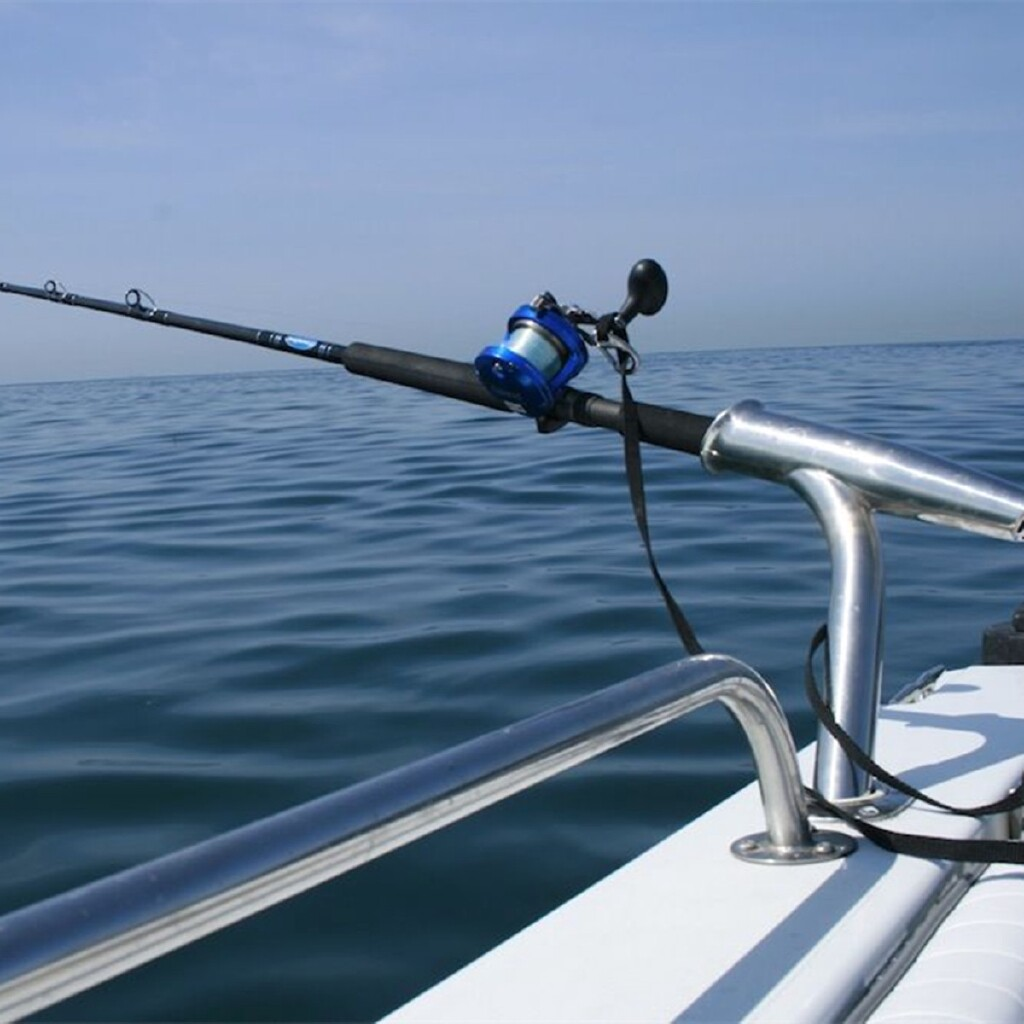 High Polished Stainless Steel Outrigger Boat Fishing Rod