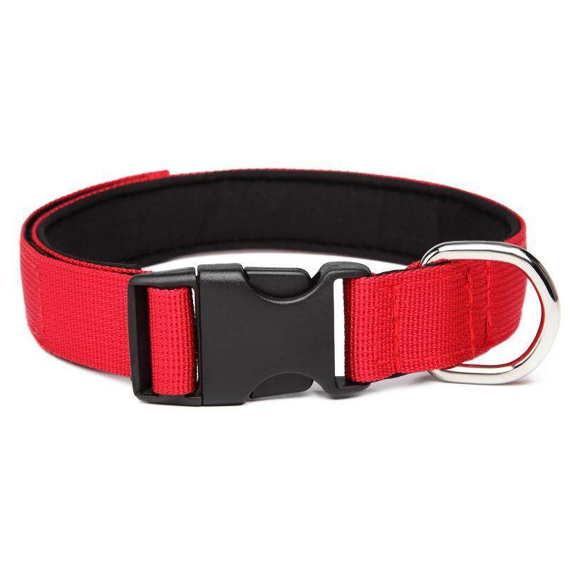 Navarch Pet Dog Collar Adjustable Neck Strap Necklace Safety Collar Designed With Buckle 6 Colors Available L ( 40-45 cm )