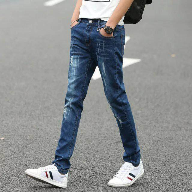 Men's Slim Fit Jeans Pants
