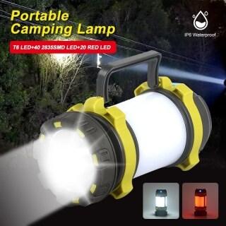 VTTO Đèn Tìm Kiếm Cầm Tay Đèn LED Cắm Trại Đèn Làm Việc, Đèn Lều Ngoài Trời Đèn Pin Cầm Tay, Đèn Rọi Cổng Sạc USB thumbnail
