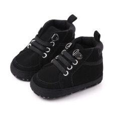 I Love Daddy & Mum Giày thể thao chất liệu cotton mềm mại kèm đế chống trượt cho bé cảm giác dễ chịu, vui thích tập đi