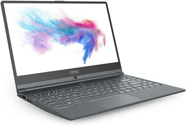 MSI Modern 14 A10RAS-1030 14 Ultra Thin and Light Professional Laptop Intel Core i7-10510U MX330 16GB DDR4 1TB NVMe SSD Win10Pro Malaysia