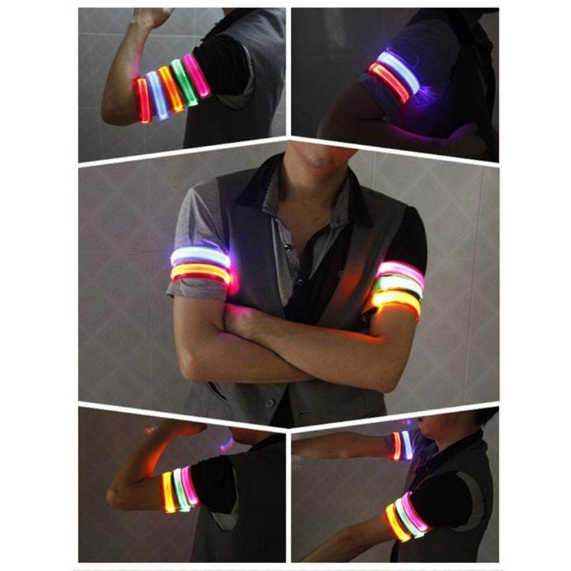 Sys Outdoor Sports Night Running Light Safety Jogging Arm Luminous Warning Wristband Cycling By Saiyousun.