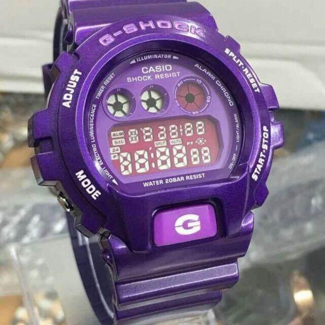 G_Shock_ Purple DW6900 (Cermin Kaca) Malaysia