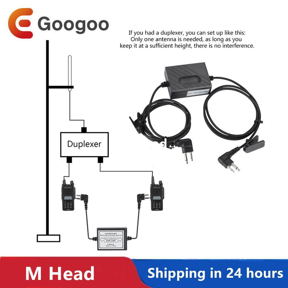 Relay Box For Two-Way Radio Repeater Box Transmit Receive Transceiver By Googoostore.