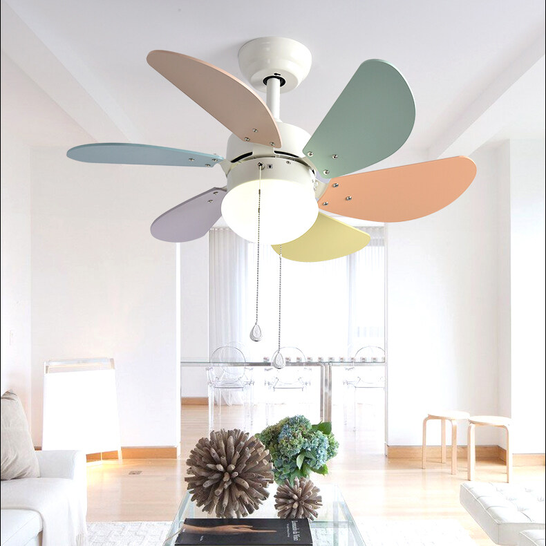 Led Ceiling Fan Lights Fixtures For Kids Room Lazada Ph