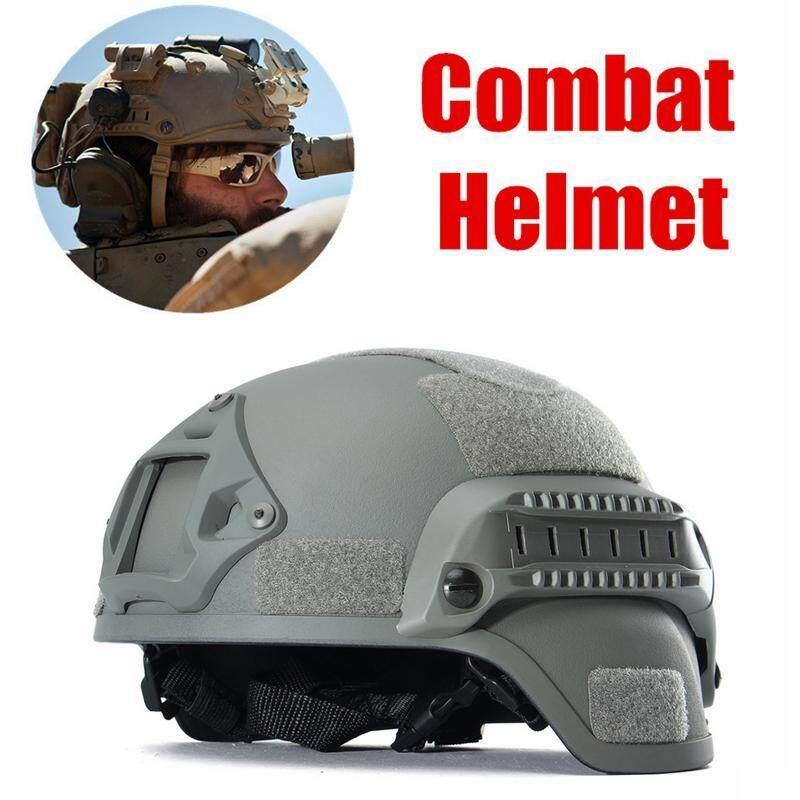Mua Mich2000 Chiến Thuật Quân Sự Ngoài Trời Cưỡi Mũ Bảo Hiểm Hun Ting-Xám
