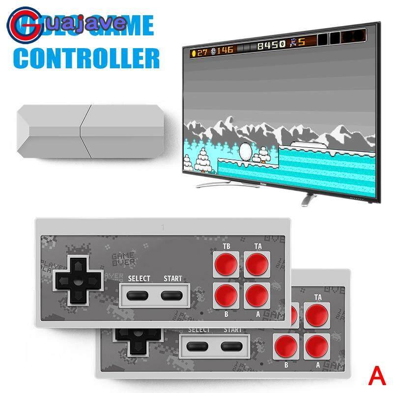 Giá Guajave Retro Dính USB Cầm Tay Không Dây cho TIVI Video Game Bền Video Bộ Điều Khiển Trò Chơi
