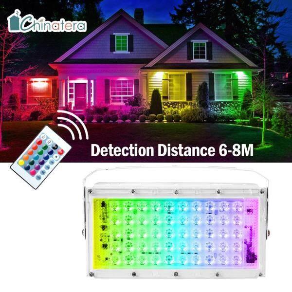 [Chinatera] Đèn Pha LED Ngoài Trời 50W Đèn Chiếu Cảnh Quan Đèn Đường Đèn Pha Chống Nước IP65