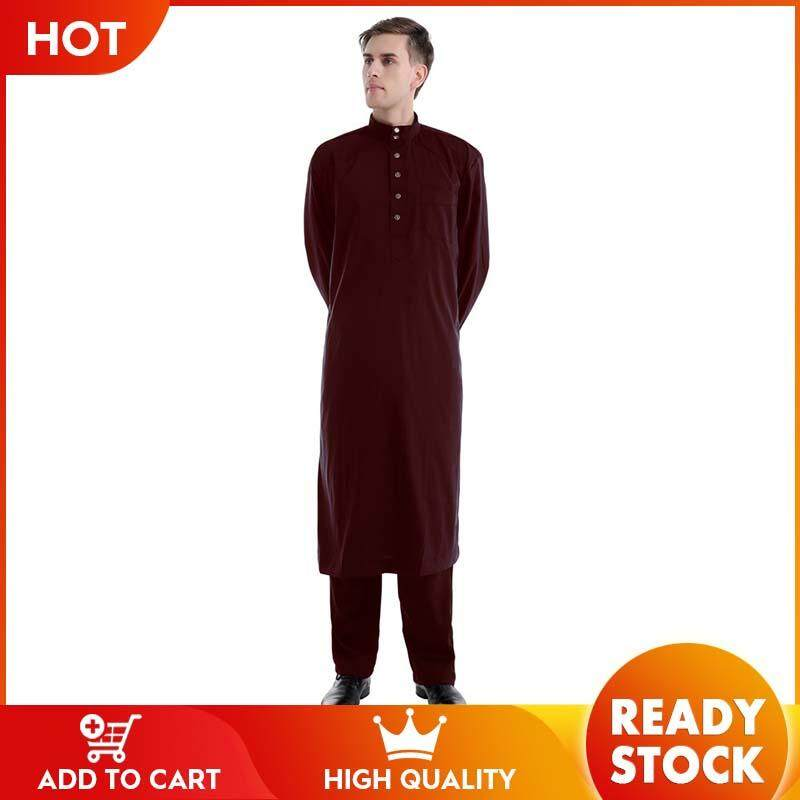 1150bdc71d796 WJKFGI New solid color two-piece men's robes sizzle
