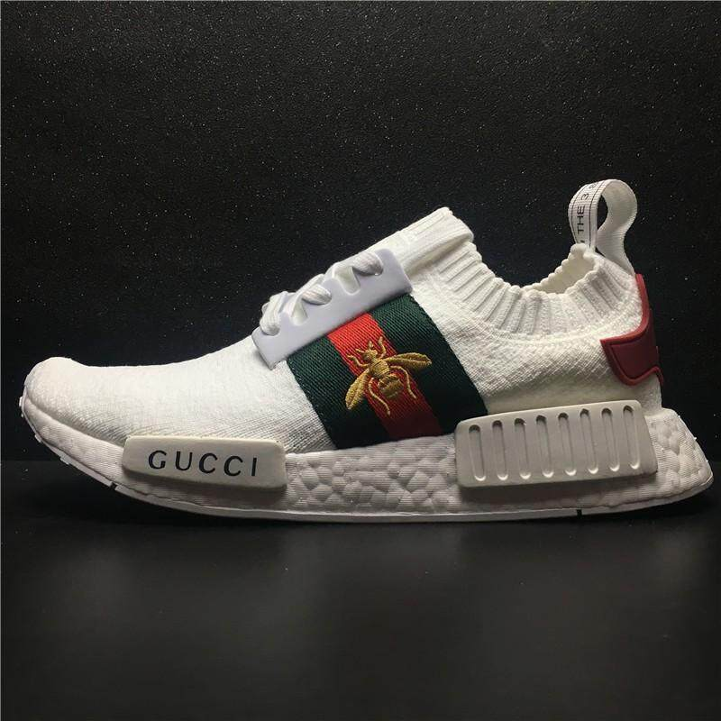 cheap for discount f6fb1 fe93b Original Adidass NMD  x gucci  shoes for men women sneakers 36-45