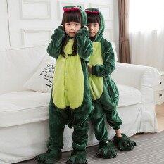 Khủng Long Pajama Người Lớn Kigurumi Onesie CHA Mẹ-con Động Vật Bộ Đồ Cosplay Mặc Nhà Cậu Bé Và Cô Gái Quần Áo Ngủ