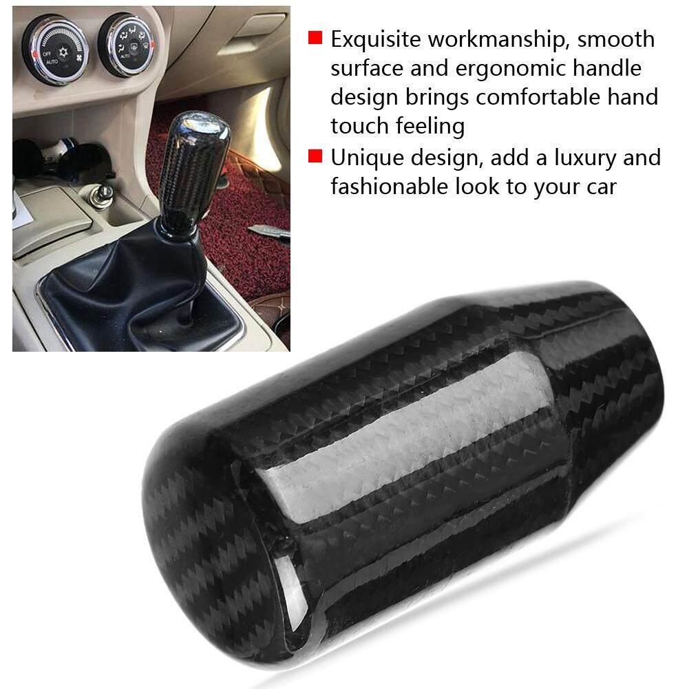 Car Modified Carbon Fiber Stand Head Manual Transmission Lever Knob Head  Wave Stick Shift Knob