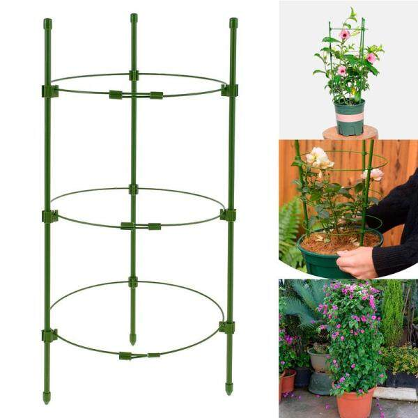 Fodable Flowers Supports Plastic Creative Fodable Gardening Plant Stand Plants Climbing Rack Fruit Vine Flowers Supports Frame Fruit Vine Climbing Rack