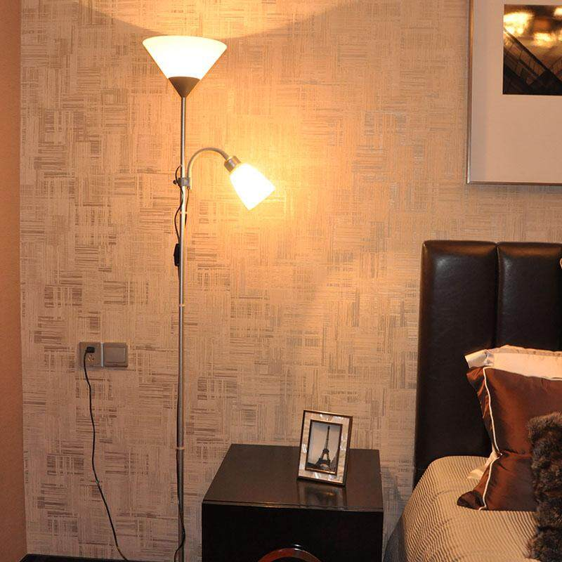 Floor Lamp Living Room Bedroom LED Study Multi-function Vertical Table Lamp 178*23cm