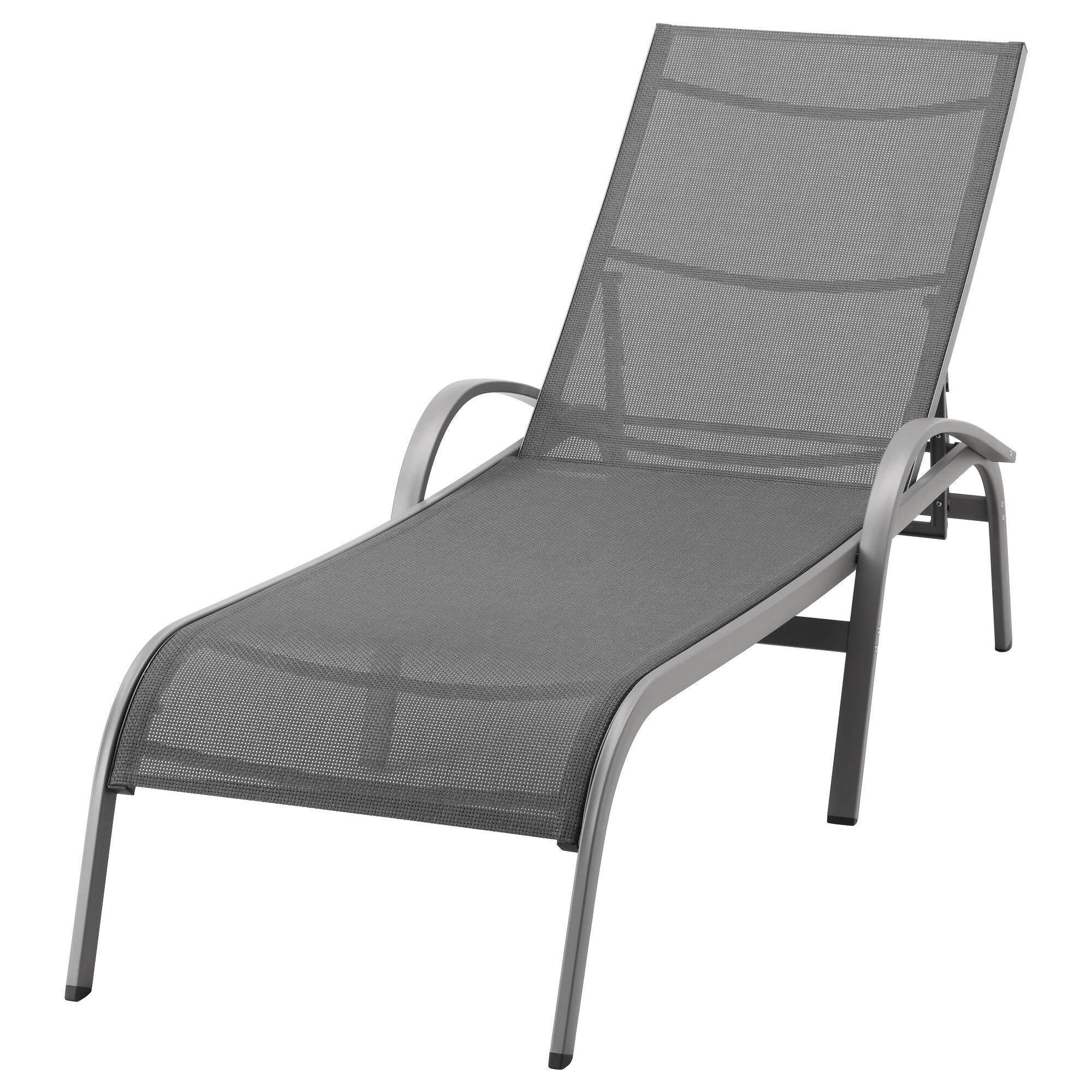 Torholmen Sun Lounger Grey