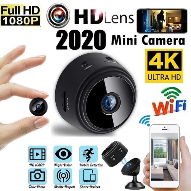 Camera Giám Sát An Ninh A9 Mini Ứng Dụng Camera Full HD 1080P Màn Hình Mạng IP WiFi Không Dây Góc Nhìn 150 Độ Camera An Ninh Phiên Bản Ban Đêm