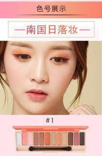 Lameila 12 Warna Eyeshadow Palette Longlasting Eye Shadow Shimmer Glitter thumbnail