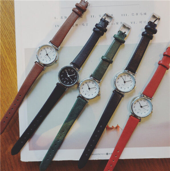 [FAST SHIPPING][LOCAL SELLER] Women Ladies Student Small 25mm Quartz Classic Wrist Watch Fashion Alloy Wrist Watch Malaysia