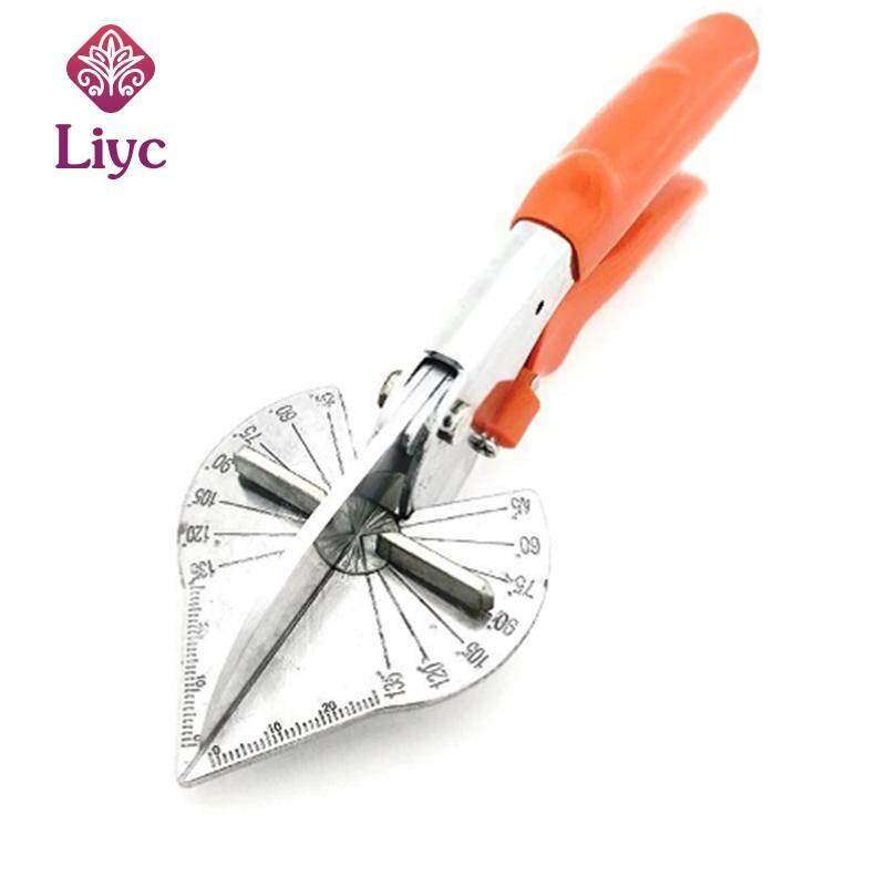 Liyc Multi Angle Mitre Siding Wire Duct Cutter PVC PE Plastic Pipe Hose Scissor Cut Housework home decor Plumbing Tool