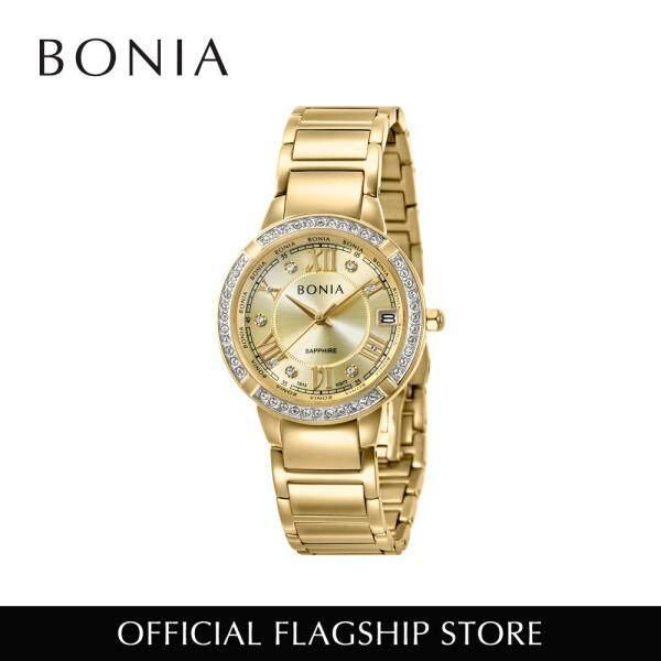 Bonia Elegance Quartz Gold 32mm Women Watch BNB10377-2223S (Free Gift) Malaysia