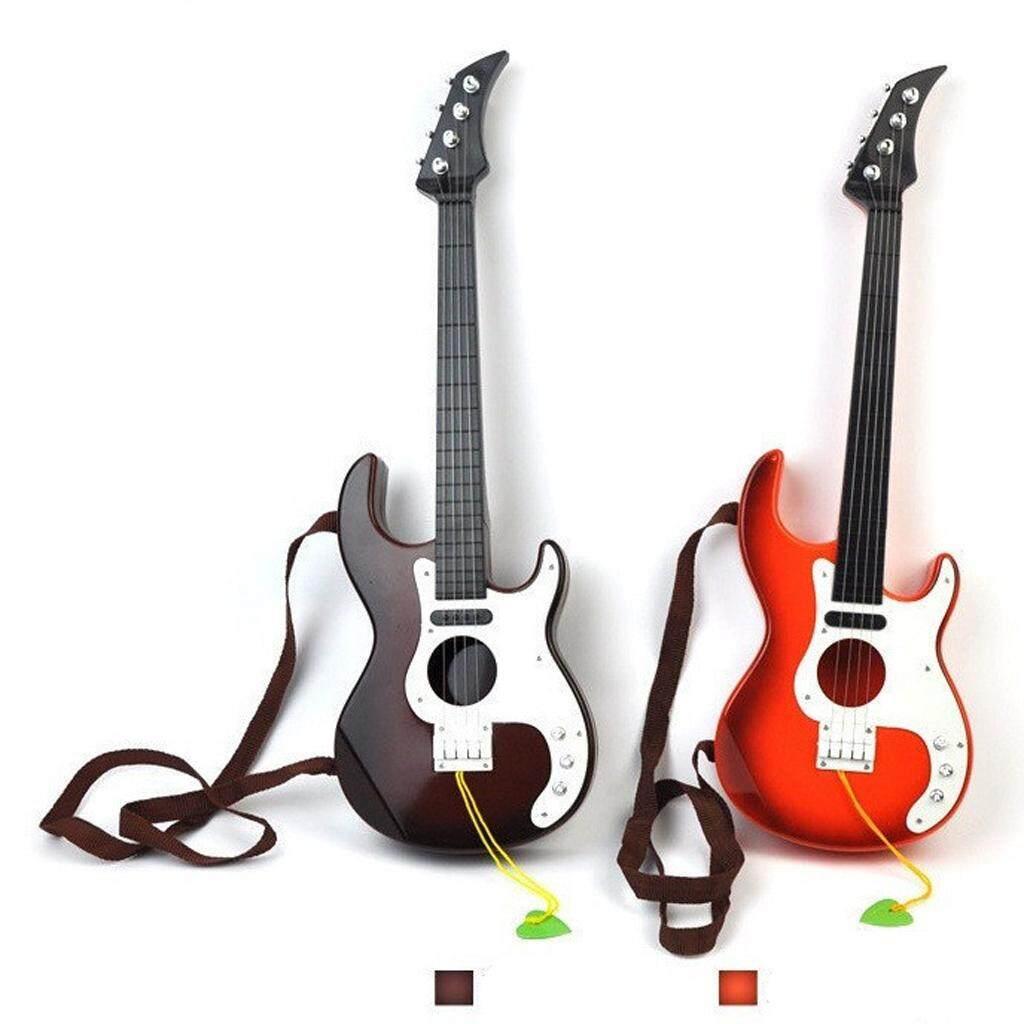 Baoblade Di Động Mô Phỏng Đồ Chơi Đàn Guitar Đàn Guitar Bass Đồ Chơi Luyện Tập Đàn Guitar Tặng