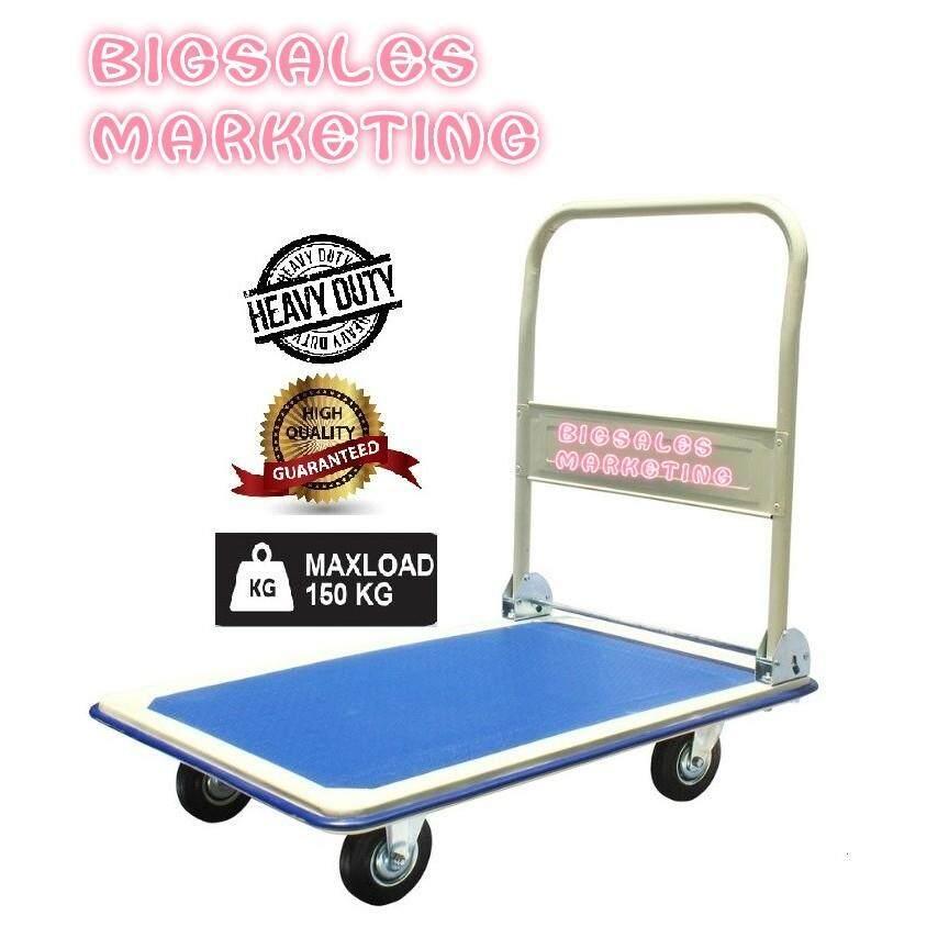 150KG BIGSALES Heavy Duty Metal Foldable Platform Hand Truck Trolley