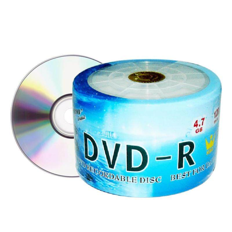 Techtopest-50 Pack DVD-R DVDR 16X 4.7GB/120Min Write Once Blank Media Record Disc
